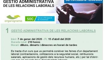 Gestión administrativa de las relaciones laborals